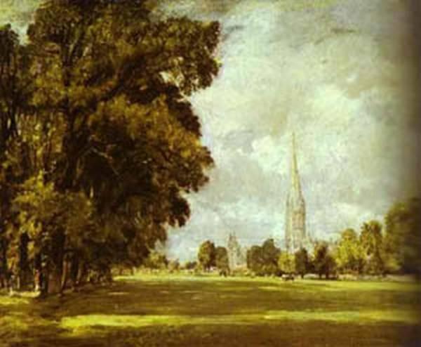 A view of salisbury athedral 1825 xx metropolitan museum of art new york usa